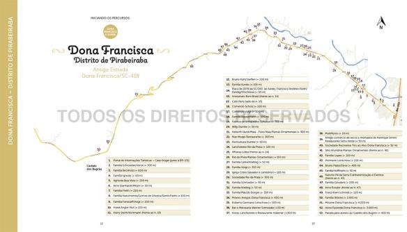 mapa dona francisca