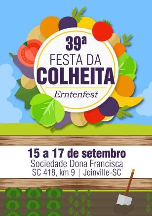 FESTA COLHEITA - SOC DONA FRANCISCA - frente